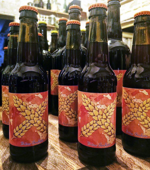 Bière ambrée - bouteille