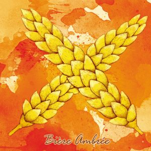 Bière ambrée de la Casa'Bières