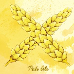 Bière blonde, Palle Ale, brassée par la Casa'Bières